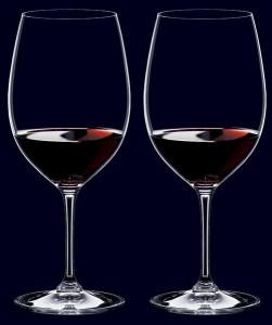 0044-1.リーデル 2+1ボックス カベルネ・ソーヴィニヨン(ボルドー) ワイングラスペアセット